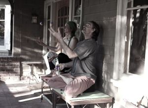 porch juggle