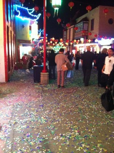 chinatown confettied